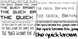 117 fonts of dafont