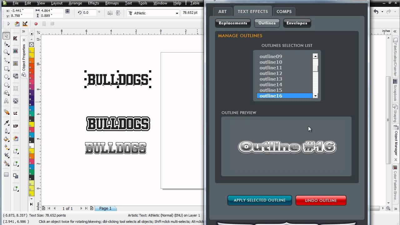 Design Base Plugin cho CorelDRAW