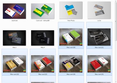 Học Corel X7_Mau card
