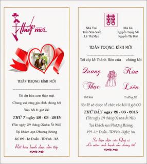 Kỹ thuật thiết kế thiệp cưới
