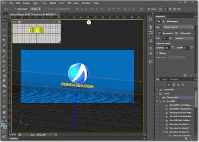 3D cho Photoshop CS6