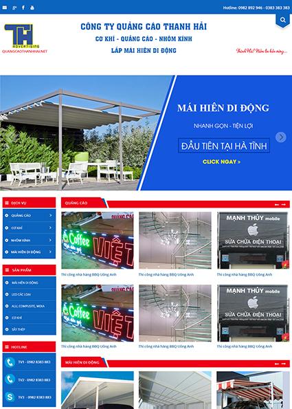 Web quangcaothanhhai _Home