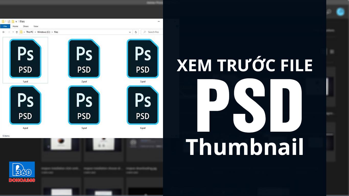 Xem Thumbnail file PSD của Photoshop