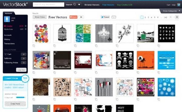 Website cung cấp ảnh vector đẹp