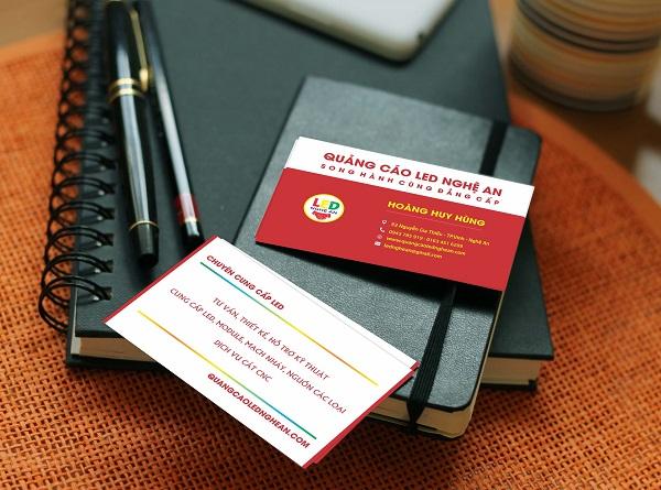 Thiết kế, in ấn card visit