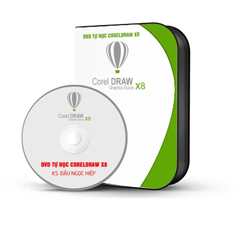 DVD TỰ HỌC CORELDRAW X8
