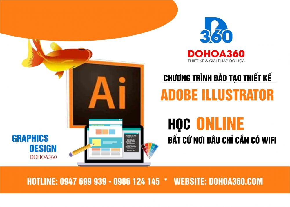 Học thiết kế sử dụng phần mềm illustrator