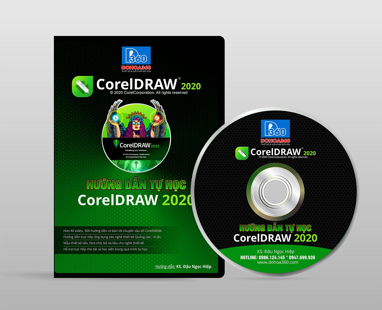 DVD tự học CorelDRAW 2020 cho Quảng cáo – In ấn